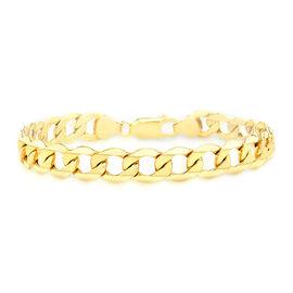9K Yellow Gold Curb Bracelet (Size 8.5), Gold Wt. 7.20 Gms