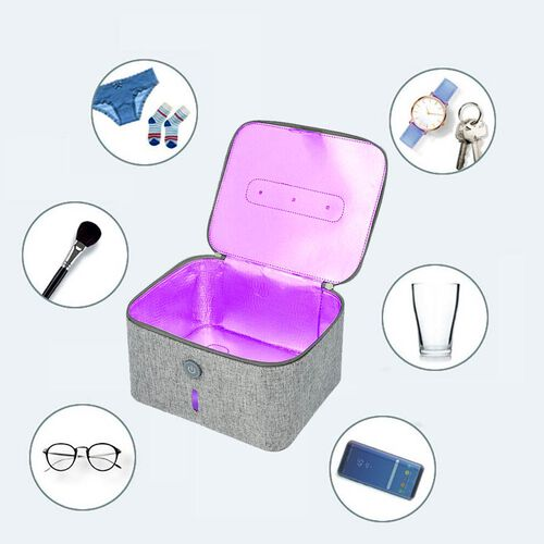 13 LED Portable UV Steriliser  - Grey
