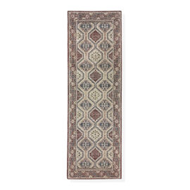 95% Cotton Chenille Jaquard Carpet (Size 240x80 Cm)