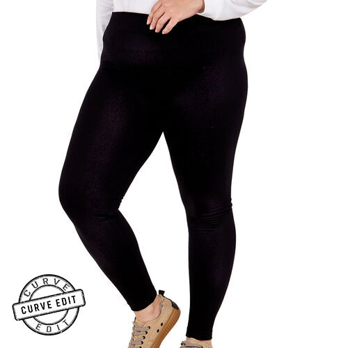 NOVA of London Curve Collection Soft High Waisted Leggings (Size 26/28)