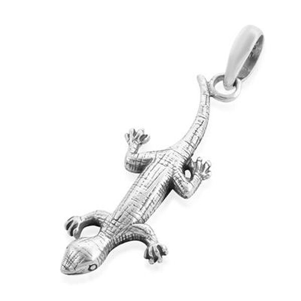 Royal Bali Collection - Sterling Silver Lizard Pendant, Silver wt. 3.10 Gms