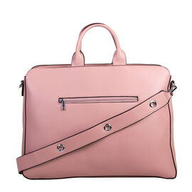 Bulaggi Collection - Laurie - Laptop Bag With Removable Strap (43x32x09 cm) - Pastel Pink