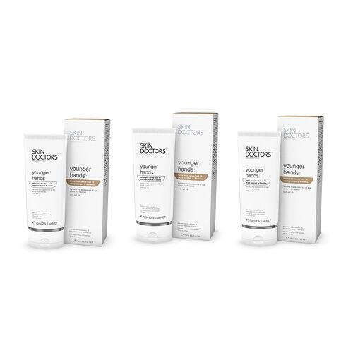 Skin Doctors: Younger Hands - 75ml (x 3)