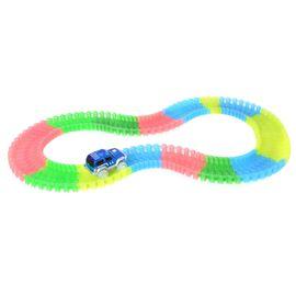 Twister Magic Tracks with Blue Colour LED Car (Size 11 Ft)