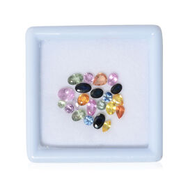 Collectors Edition - Multi Sapphire Mix Faceted 5.00 Ct