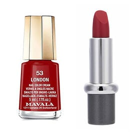 Mavala: Carmin Lipstick (With 53 London Mini Colour)