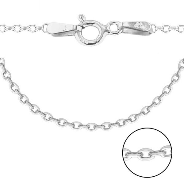 Sterling Silver Trace Chain (Size 30)