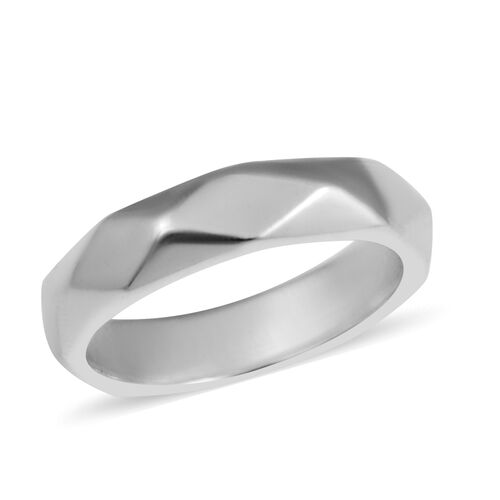 Band Ring in Sterling Silver 3.80 Grams