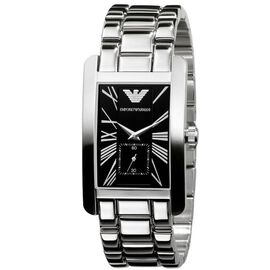 EMPORIO ARMANI Unisex Watch with Stainless Steel Strap