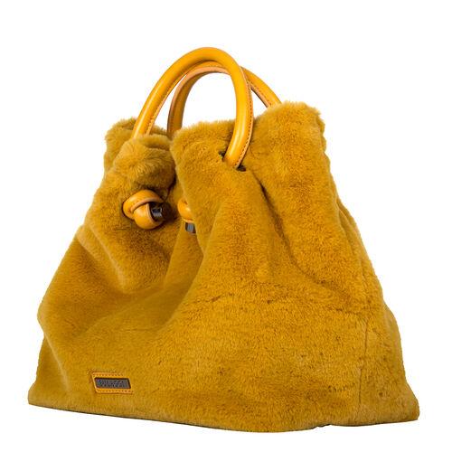 Bulaggi Collection- Viola Handbag (Size 28x27x14 Cm) - Mustard
