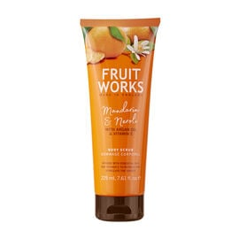 Mandarin & Neroli Body Scrub with Argan Oil and Vitamin E - 225ML