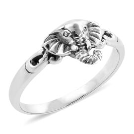 Royal Bali Collection Sterling Silver Ring, Silver Wt: 3.47 Gms