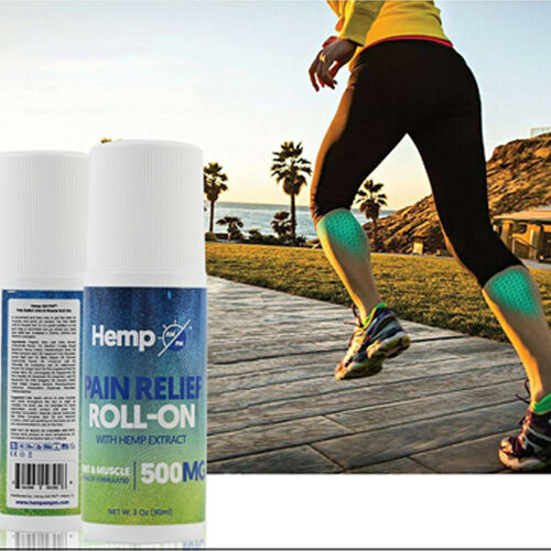 Hemp AM PM: Pain Relief Roll-on (500mg) - 90ml