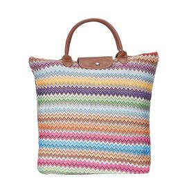 SIGNARE - Tapastry Aztec Foldable Large Tote Bag (38 x 35.5 x 9 cms)