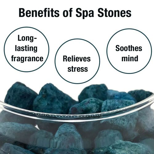 Spa Stones (With Uplifting Organic Essential Oils)