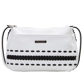 Bulaggi Collection - Jadey - Crossover Handbag with Adjustable Strap (23x18x07 cm) - Black
