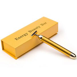 14 Carat Gold Plated Facial Roller