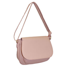 Designer Inspired- Pink Colour Bag with Adjustable Strap