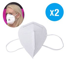 2 Piece Set - KN95 Face Mask 5 Layer Filteration Technology