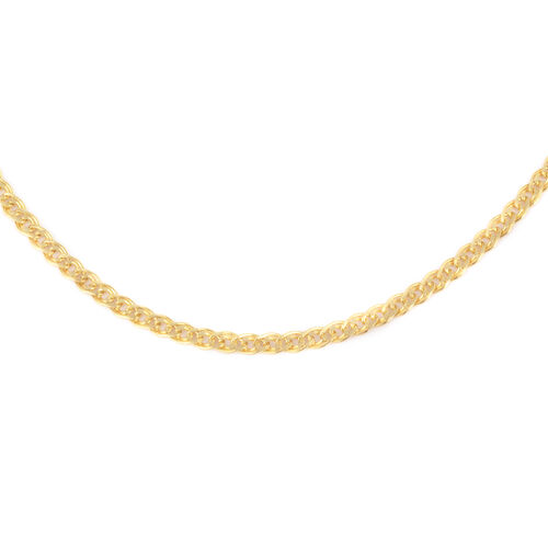 Italian Made 9K Yellow Gold Necklace (Size 18)