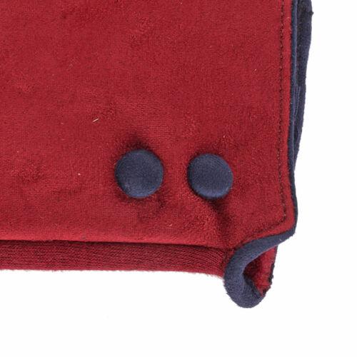 Maroon and Blue Colour Felt Gloves (Size 23 Cm)