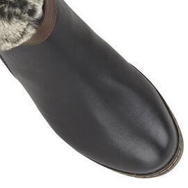 Lotus Charmaine Heeled Mid-Calf Ladies Boots - Black
