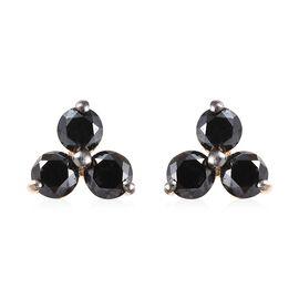 Diamond 9K Y Gold Earring  0.250  Ct.