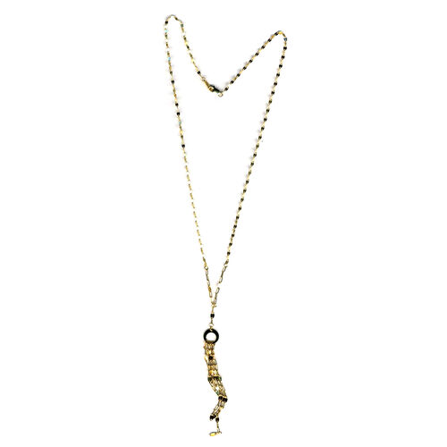 Italian Designer Inspired 9K Yellow Gold Forzatina Necklace (Size 18)