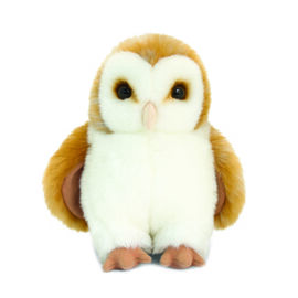 Keel Toys - Brown and White Colour Owl (Size 18 Cm)