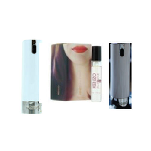Reload Mini Perfume Spray White (Incl. Kenzo Jeau DAmour - 5ml & Grey Skin)