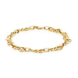 Hatton Garden Celtic Bracelet in 9K Gold 7.5 Inch