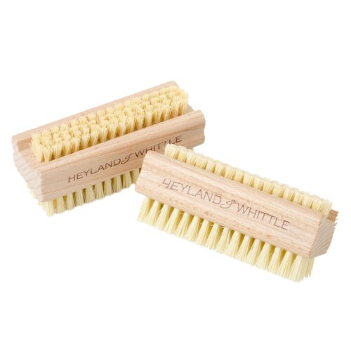 Heyland and Whittle 957 Home Organic Soap Earl Grey 150g and Wooden Sisal Brush