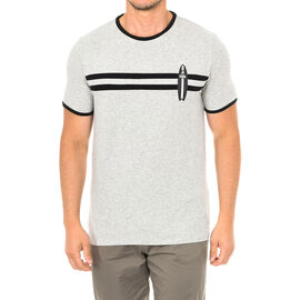 Karl Langerfeld Mens Surf T-Shirt Short Sleeve in grey Colour