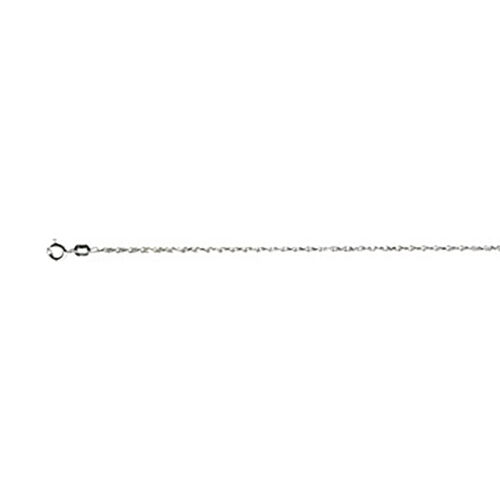 Italian Made - Yellow Gold Overlay Sterling Silver Singapore Chain (Size 18), Silver wt 7.62 Gms