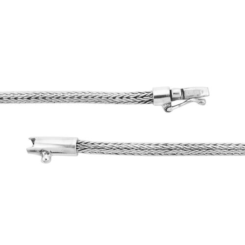 Royal Bali Collection Sterling Silver Tulang Naga Bracelet (Size 7.5), Silver wt. 10.45 Gms