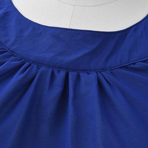 Blue Colour One Piece Dress
