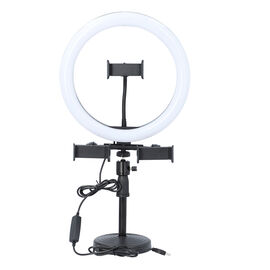 Desktop Dimmable Fill Ringlight with 3 Light Temperatures