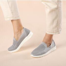 LA MAREY Flexible and Comfortable Women Shoes in Grey