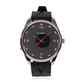 Kyboe Evolve Corsa Quartz Movement Watch in Black Colour