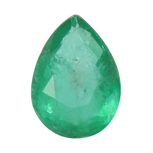 AA Emerald Pear 7x5 Faceted 0.60 Cts