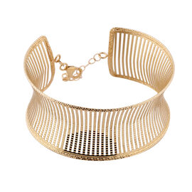 9K Yellow Gold Bangle (Size 7 with 1 inch Extender), Gold Wt. 10.25 Gms