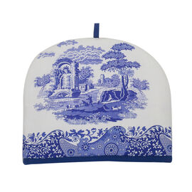 Pimpernel Blue and White Italian Teapot Warmer (Size 29x34cm)