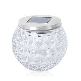 Home Decor Glass Jar Colour Changing LED Solar Light