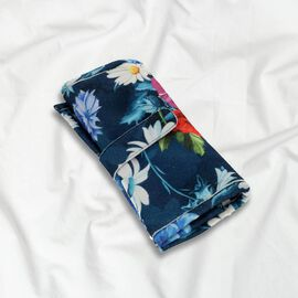 Speciality Styles Travel Floral Printed Jewellery Case- Blue