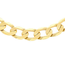 9K Yellow Gold Curb Chain (Size - 20),  Gold Wt. 33.2 Gms