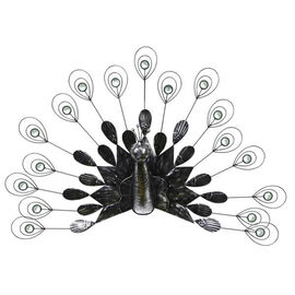 ROLSON Fantailed Peacock Wall Ornament