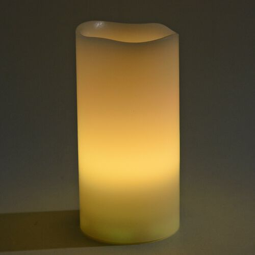 Set of 3- Flameless Candles with Remote Control