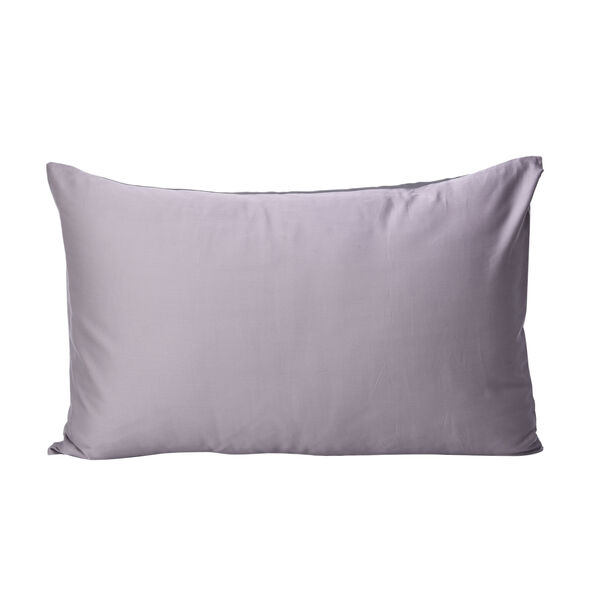 Serenity Night 100% Mulberry Silk Hyaluronic and Argan Oil Infused Pillowcase (Size 50x75cm) - Grey