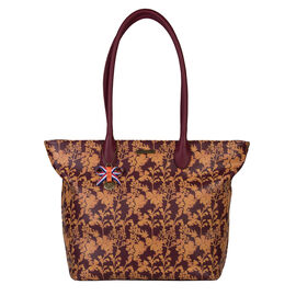 Bulaggi Collection - Marcella Shopper Bag (Size 29x30x13 Cm) - Burgundy