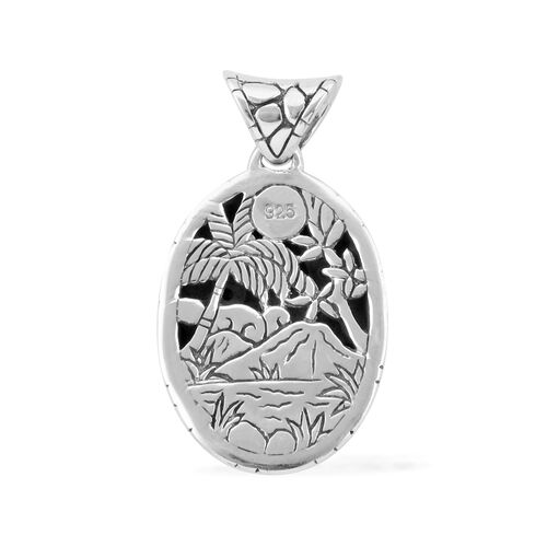 Bali Legacy Collection Sterling Silver Pendant, Silver wt 8.29 Gms.